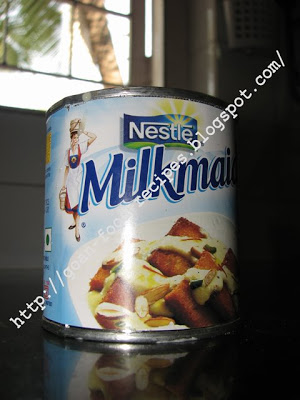 Nestle Condensed Milk Tin