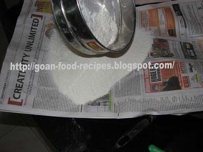 sieved Flour