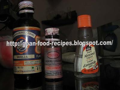 Vanilla and Almond essence