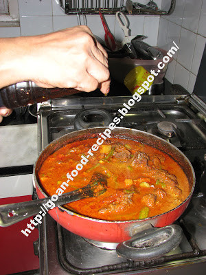 Goan Meat Curry with Vegetables