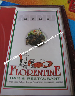 Florentine bar and restaurant