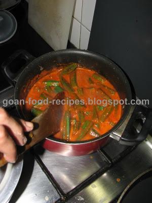 Stir Carefull so as to not break the vegetables