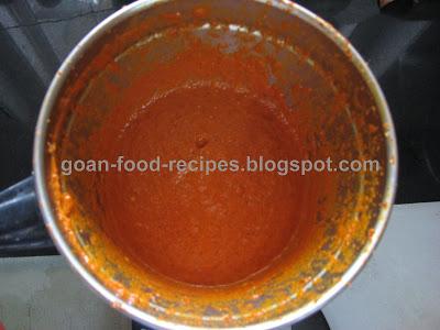 Goan prawn curry masala