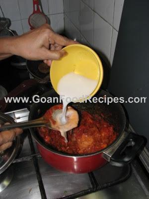 Add Thick Coconut Milk