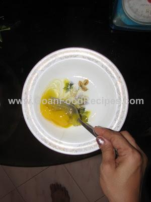 Beating egg