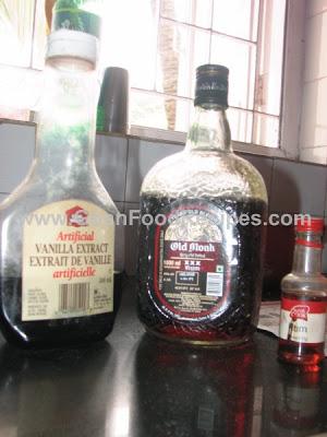 Vanilla old monk rum essence