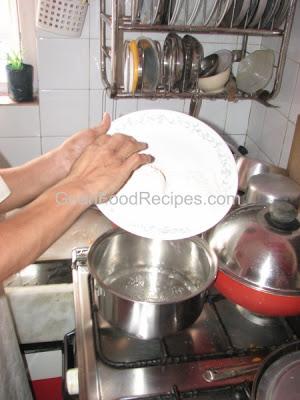 add flour and maida