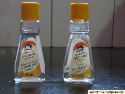 almond and coconut extract