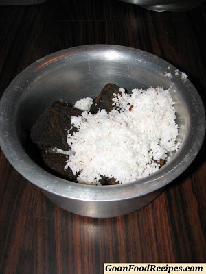coconut with jaggery
