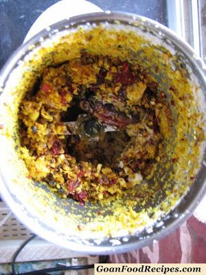blend the masala ingredients