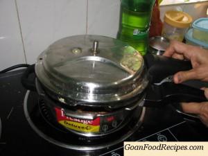 pressure cook again