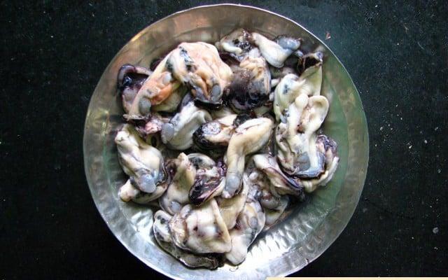Mussels Rawa Fried (Xinanio)