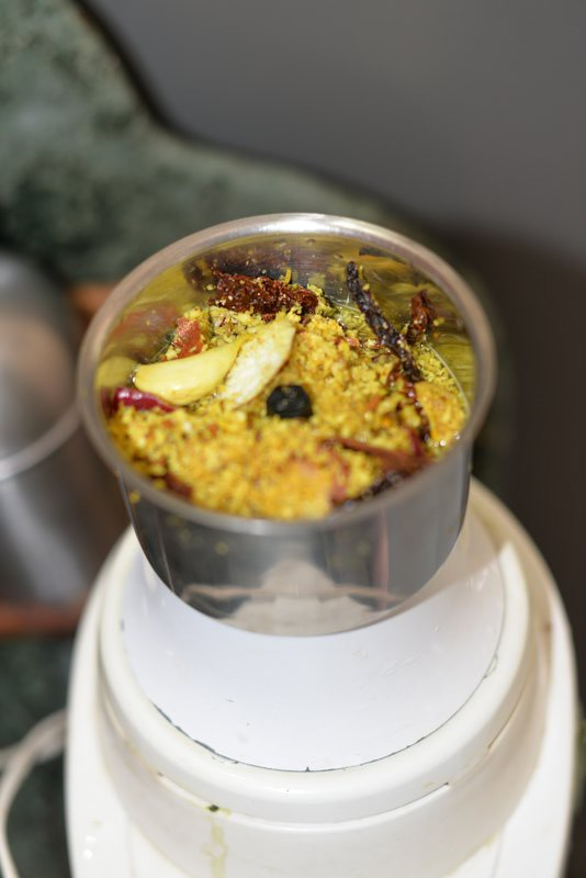 add masala to ingredients