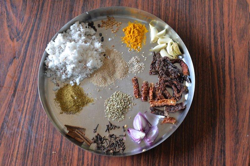 mutton xacuti masala ingredients