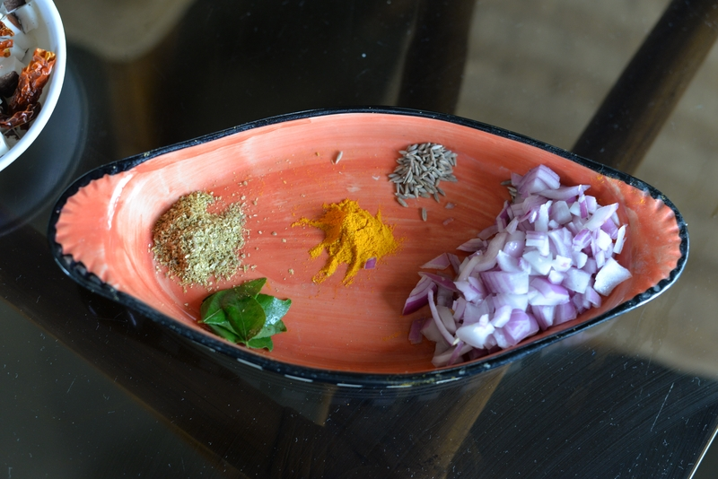 tendli masala ingredients